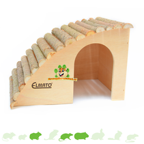 Sloping Rodent Villa with Hazelnut roof 29.5 cm