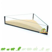 Glassandschalen-Dreieck 20 cm