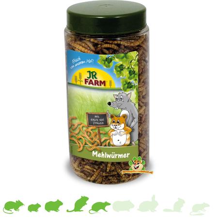 JR Farm Dried Mealworms 70 grams