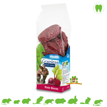 JR Farm Grainless HEALTH Dental-Cookies Beetroot
