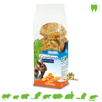 Getreidelose GESUNDHEIT Zahnkekse Karotte 150 Gramm