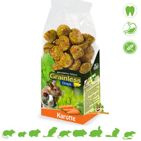 JR Farm Graanloze druppels wortels