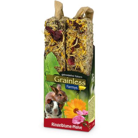 JR Farm Getreidefreie Farmys Calendula & Hollyhock Sticks