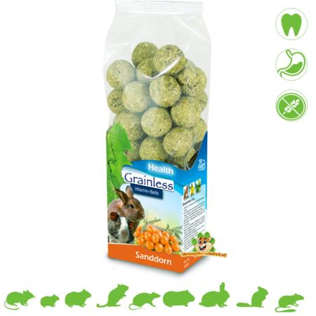JR Farm Grainless HEALTH Vitamin Balls Sea Buckthorn 150 grams