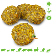 Grainless Herbs Roll Marigold & Banana 80 grams