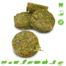 Grainless Herbs Rolls Nettle & Carrot 80 grams