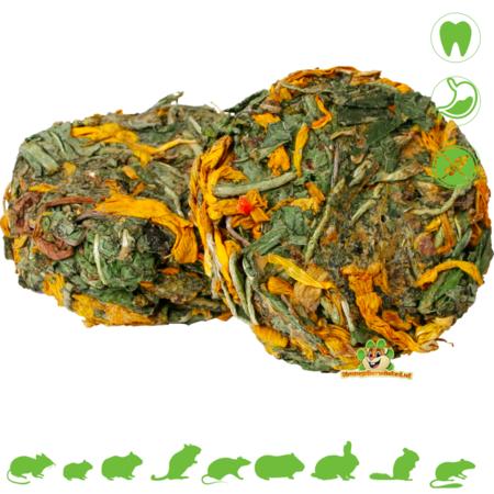 JR Farm Grainless Herbal Rolls Dandelion & Sunflower 70 grams