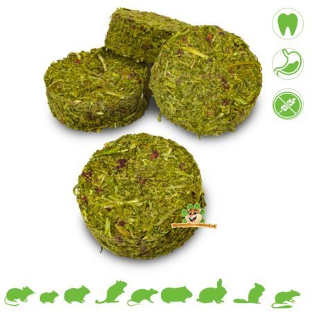 JR Farm Grainless Herbs Rolls Parsley & Raspberry 80 grams