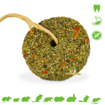 Grainless Herbal Wheel Carrot & Parsley