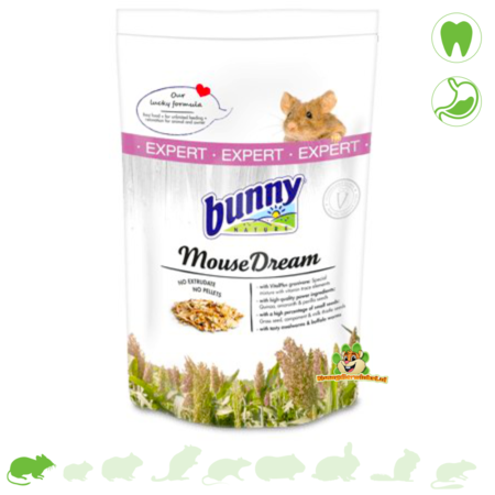 Bunny Nature KleurmuisDroom Expert 500 gram