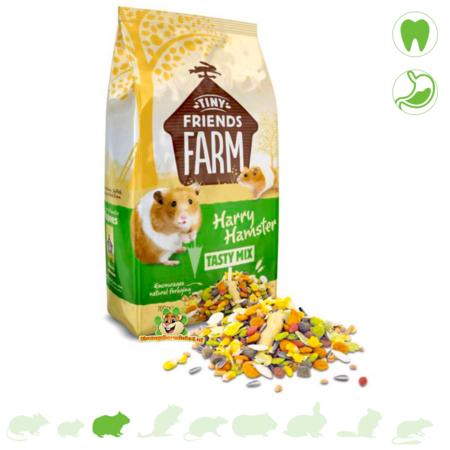Supreme Harry Hamster Komplett-Müsli 700 Gramm Hamsterfutter