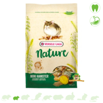 Mini Hamster Nature 400 Gramm Zwerghamsterfutter