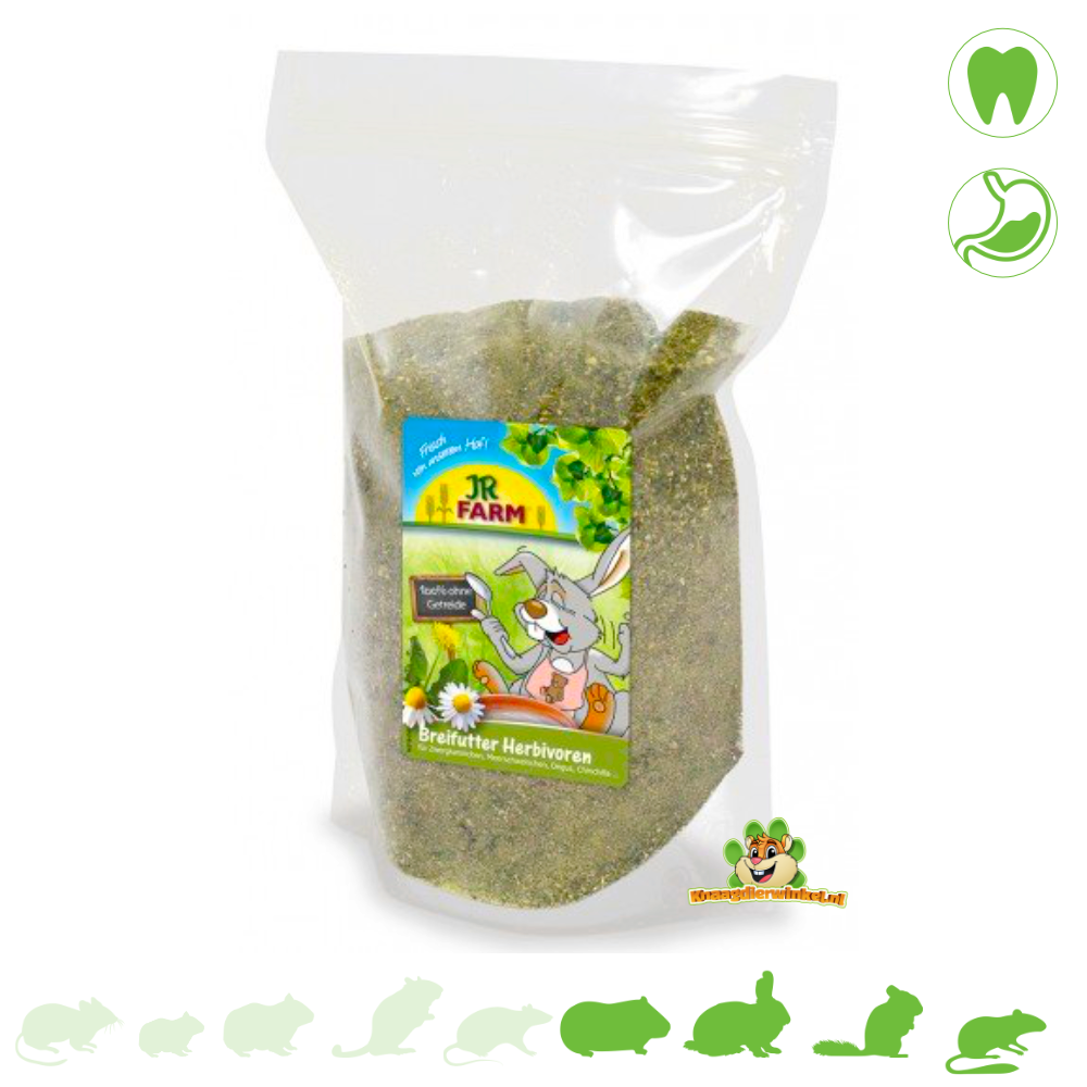 JR Farm Zwangsfutter für Pflanzenfresser 200 Gramm
