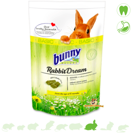 Bunny Nature Konijnendroom Basic 1,5 kg Konijnenvoer