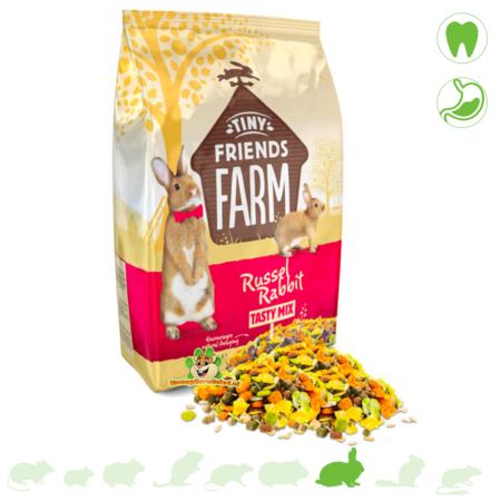 Supreme Russel Rabbit Tasty Mix Kaninchenfutter
