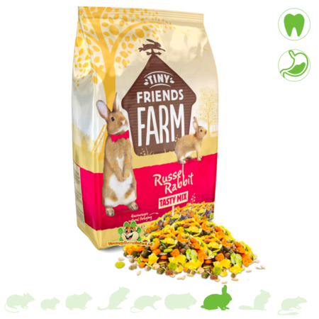 Supreme Russel Rabbit Tasty Mix Konijnenvoer