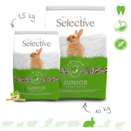 Supreme Selective Rabbit Junior Konijnenvoer