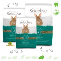 Selective Rabbit Mature 4+ Konijnenvoer
