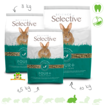 Selective Rabbit Mature 4+ Rabbit Food