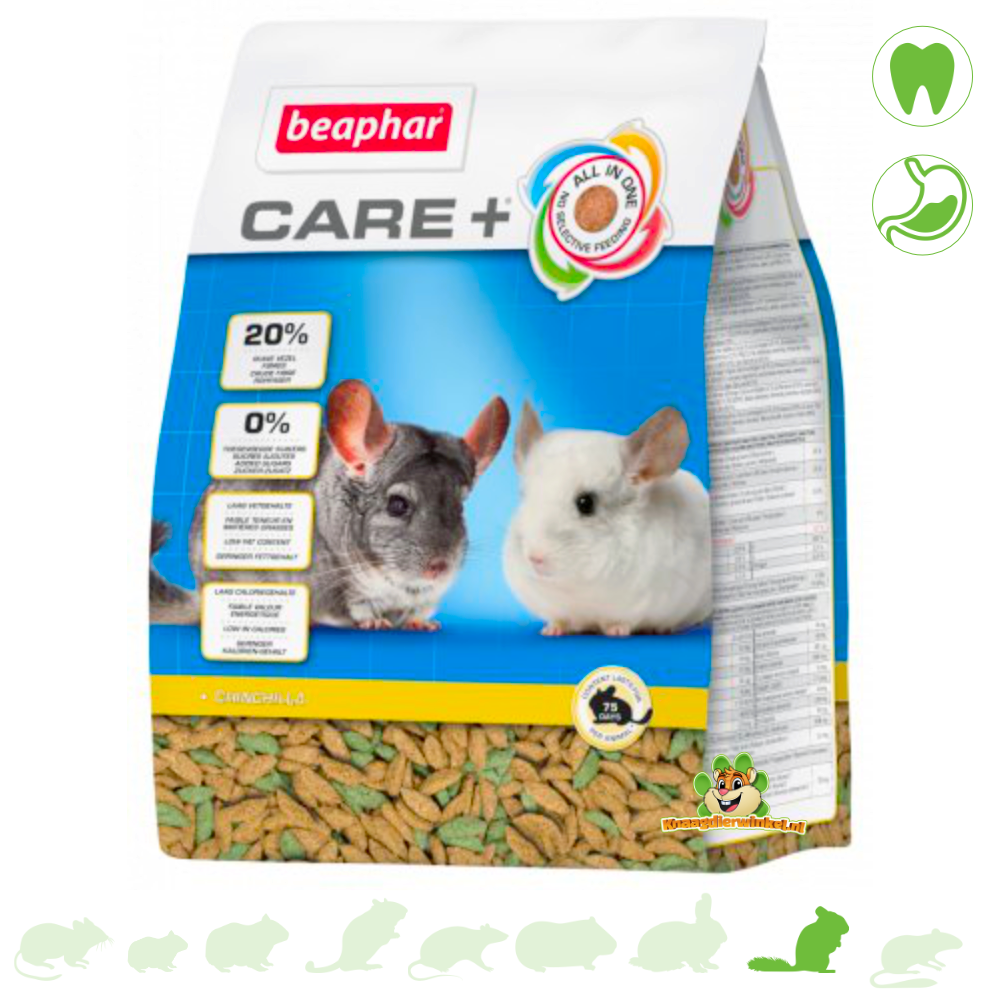 Beaphar Pflege + Chinchilla 1,5 kg