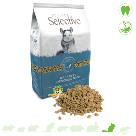 Supreme Selektive Chinchilla 1,5 kg