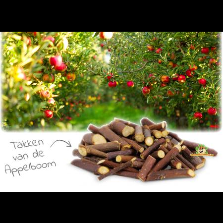 JR Farm Knabbern Holz Apfelbaum