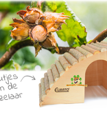 Elmato Sloping Rodent Villa with Hazelnut roof 29.5 cm