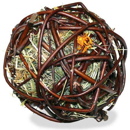 JR Farm Willow Ball Mountain Meadow Hay & Marigold 12 cm