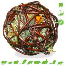 Willow Ball Mountain Meadow Hay & Marigold 12 cm