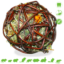 Willow Ball Mountain Meadow Heu & Ringelblume 12 cm