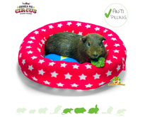 Zirkus Piggy Crash Fleece Mat 35 cm