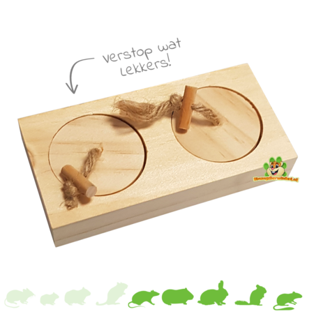 Wooden Thinking Game Turn 12 cm