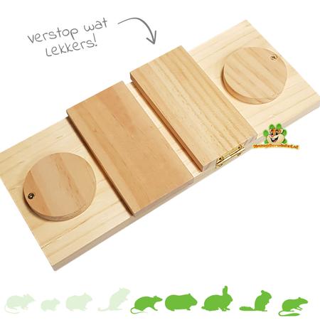 Holz Denkspiel Flip Flap 28 cm