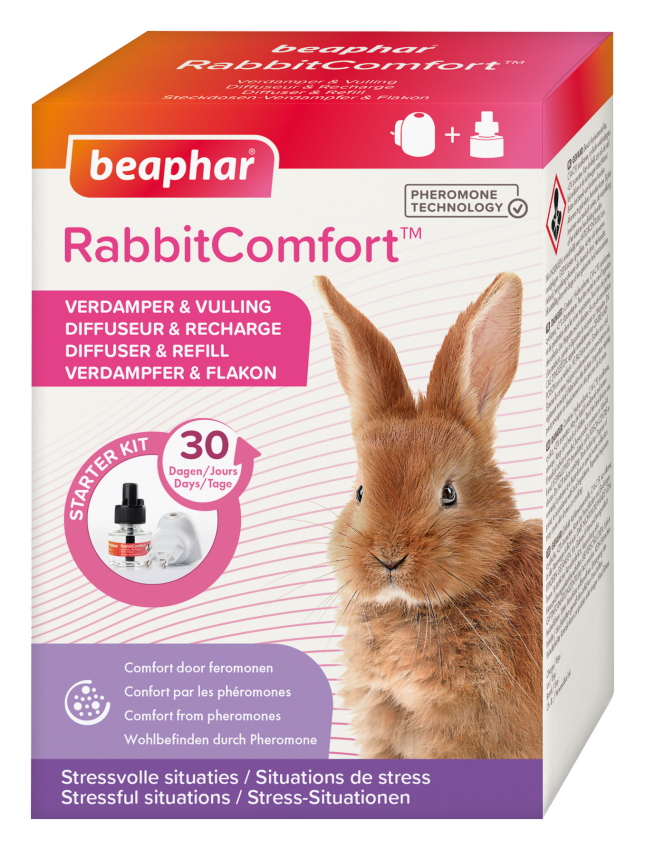 Beaphar RabbitComfort Starter Kit Verdampfer & Füllung