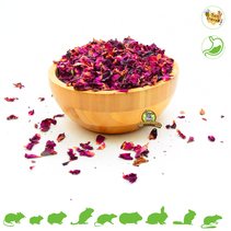 Dried Red Rose Flowers