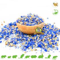 Getrocknetes Kornblumenblau