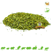 Dried spinach leaves
