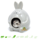 Hamster House & Bath House Sandbox Hopper Gray 11 cm