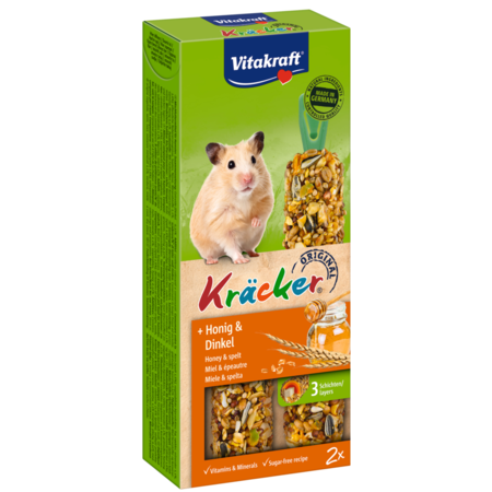 Vitakraft Hamster Kracker Honig & Dinkel