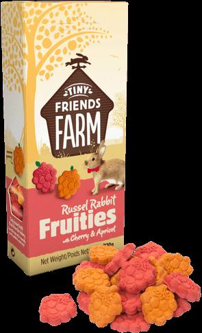 Supreme Russel Rabbit Fruities Kirsche & Aprikose