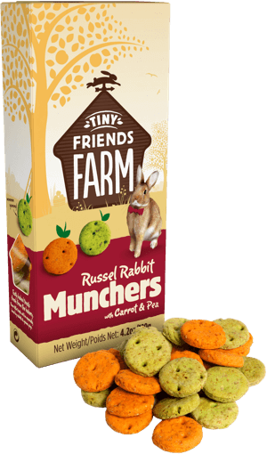Supreme Russel Rabbit Munchers Carrot and Pea