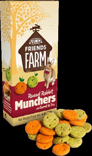 Supreme Russel Rabbit Munchers Karotte und Erbse