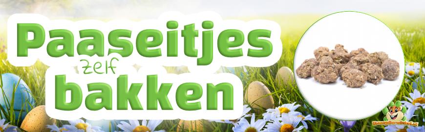Paaseitjes bakken voor je knaagdier & konijn
