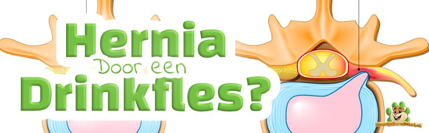 Hernia door een Drinkfles bij knaagdieren en konijnen?