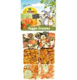 JR Farm Veggie Crossies 100 grams