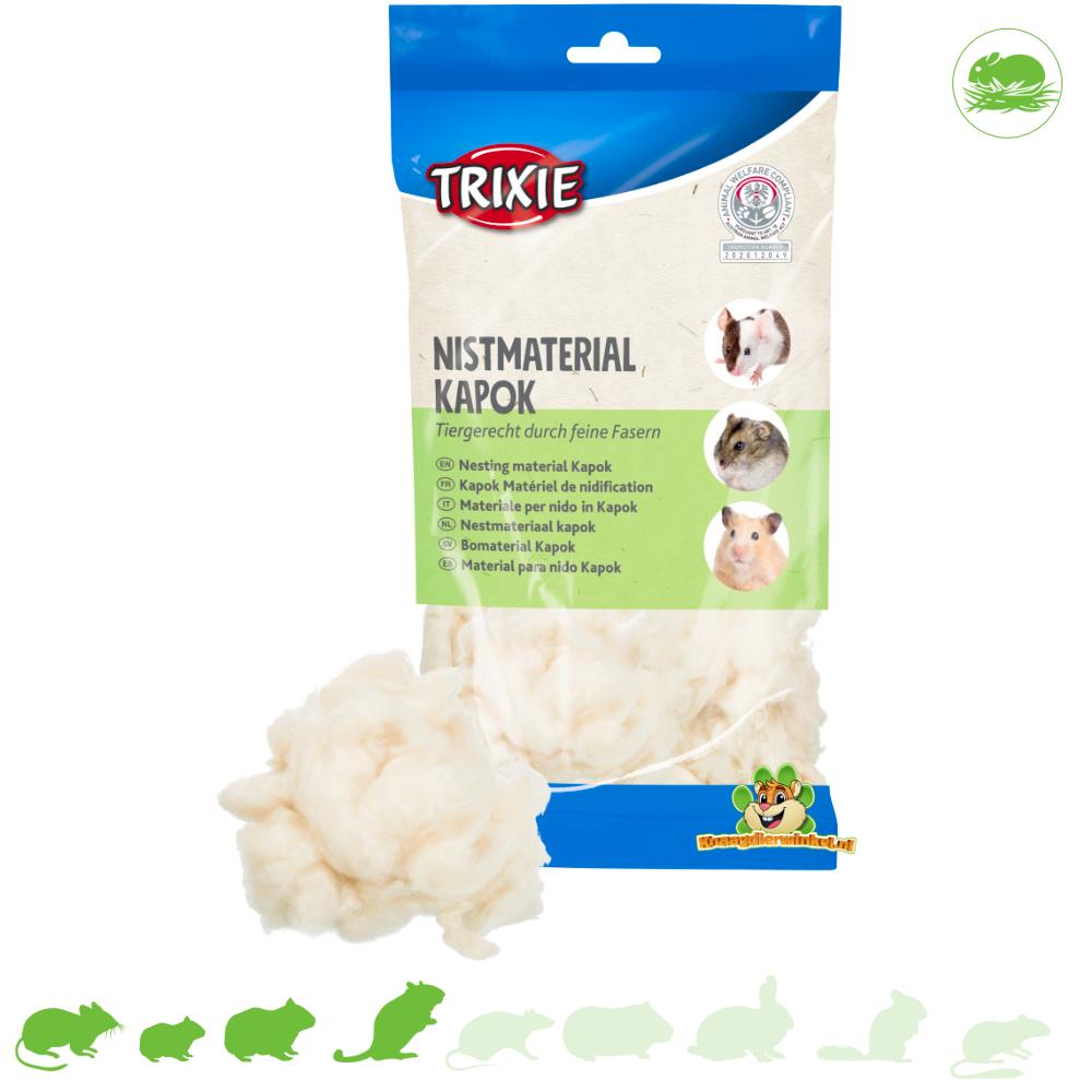 Trixie Kapok Nestmateriaal 100 gram