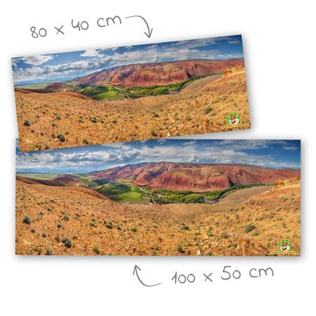 Knaagdierwinkel® HD Terrarium Background Habitat of the Roborovski Dwarf Hamster
