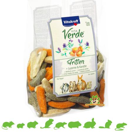 Vitakraft Vita Verde Fritten Knaagdier 200 gram