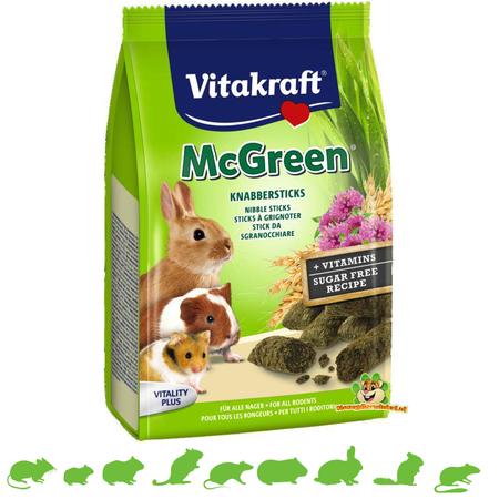 Vitakraft McGreen Knaagdier 50 gram
