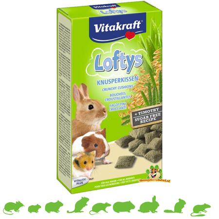 Vitakraft Lofty's Knaagdier 100 gram